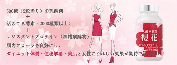 酵素食品櫻花